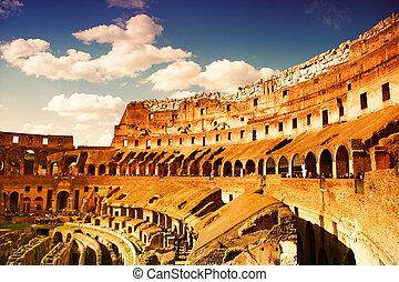 coliseo, italy), (rome