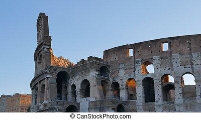 Coliseum at sunrise. Rome, Italy