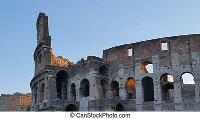 Coliseum at sunrise. Rome, Italy