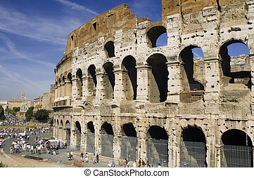 Coliseum in Italy Rome