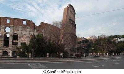 Coliseum, Rome - Coliseum in Rome, Italy