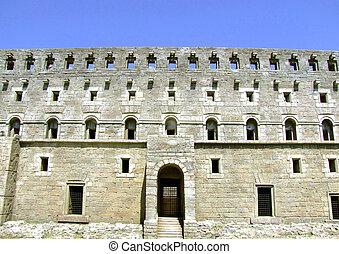 Coliseum wall