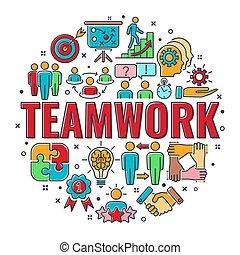 collaboration, collaboration, bannière