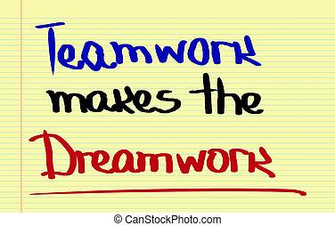collaboration, concept, marques, dreamwork