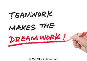 collaboration, dreamwork, marques