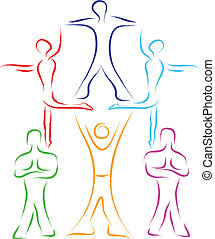 collaboration, gens