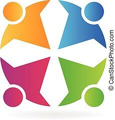 collaboration, gens, logo