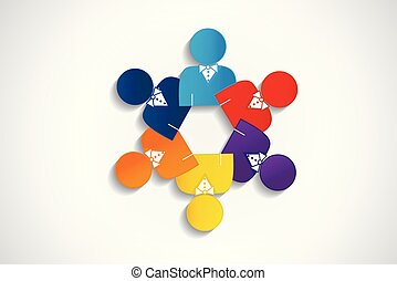 collaboration, logo