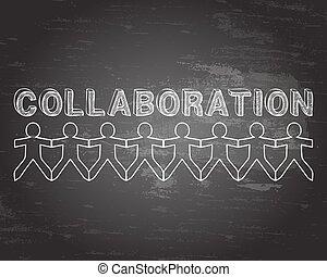 Collaboration People Blackboard