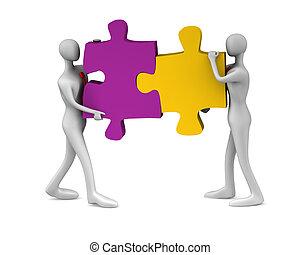 collaboration, reussite