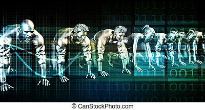 collaborazione, tecnologia