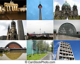 collage, berlín