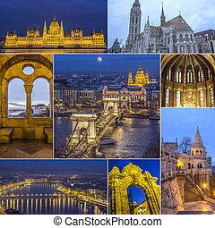 Collage Budapest