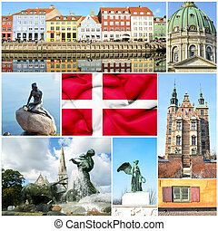 collage, danemark