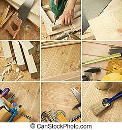 collage, gereedschap