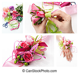 boutonniere - Collage handmade by wedding boutonniere on ...