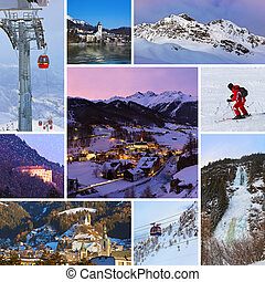 collage, Immagini,  Austria