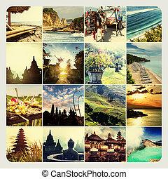 collage, indonesie