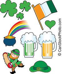 collage, irlandais
