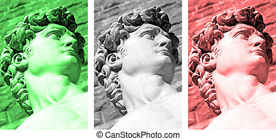 collage, italiano
