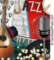 Collage jazz