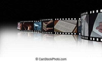 collage, métrage, religieux, 3