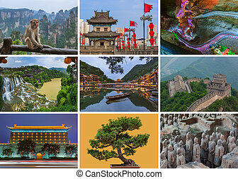Collage of China images (my photos)