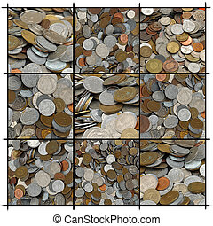 Collage of Coins