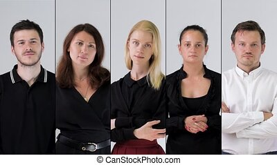 business team portrait