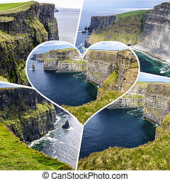 Collage of Ireland images (my photos)