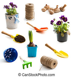 objects for gardening