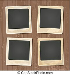 Collage of nice photo frame