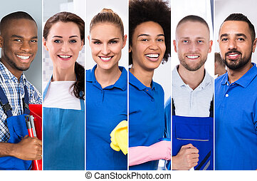 Collage Of Professional Cleaners