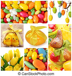Collage, Ostern