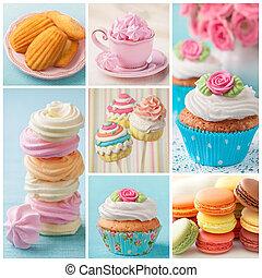 collage, pastel, pasteles, coloreado