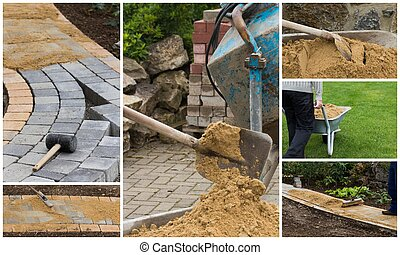 collage path construction