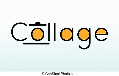 Collage photography logo stock photos, vectors, and illustrations are available,