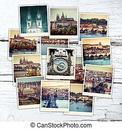 collage Prague Sights