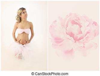 Collage Pregnancy