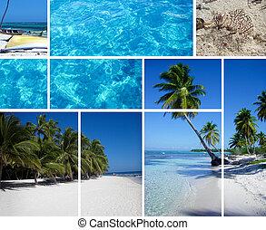 collage, república, dominicano