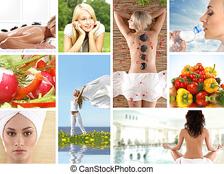 collage, santé