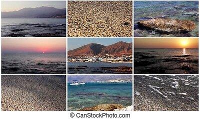 Sea collage