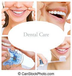 collage, services), dental, (dental, sorgfalt