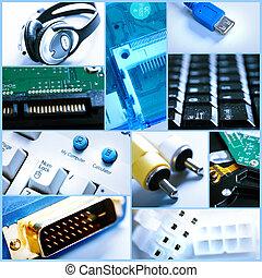collage., tecnologia