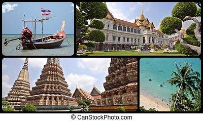 collage, thaïlande