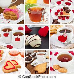 collage Valentines day