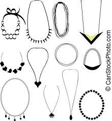collane, set