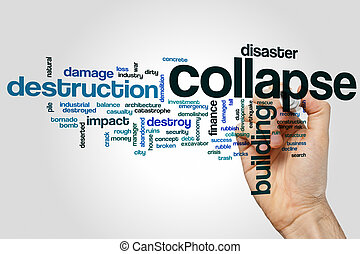 Collapse word cloud