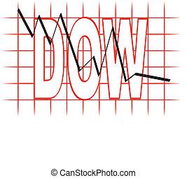 collapsing stock market