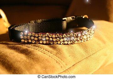 rhinestone cat collar